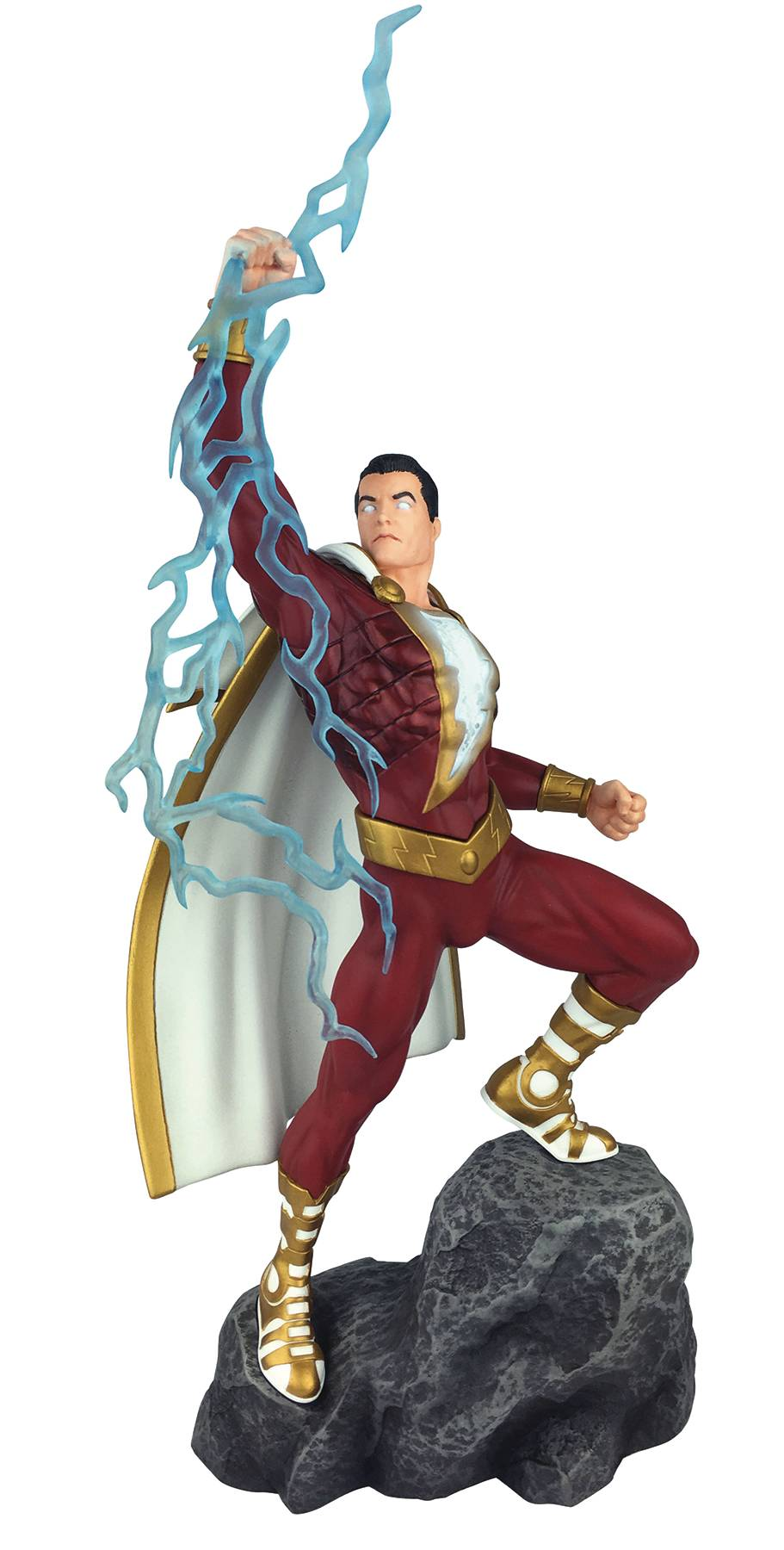 DC GALLERY SHAZAM COMIC PVC FIGURE 01/16/19