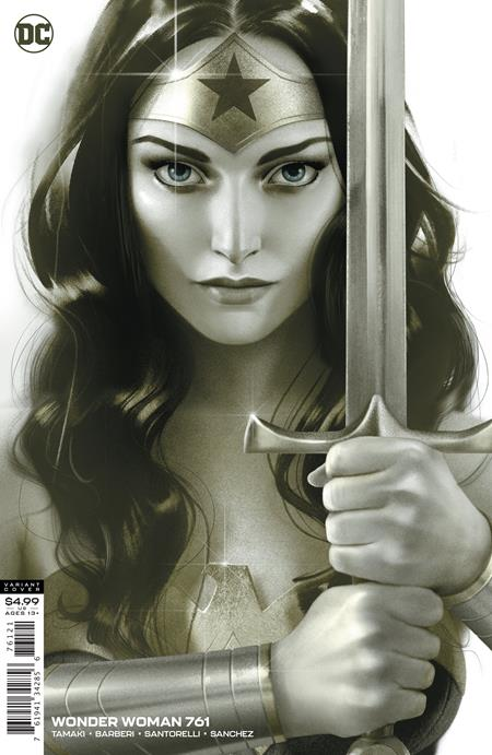 WONDER WOMAN #761 J MIDDLETON CARD STOCK VARIANT 08/26/20