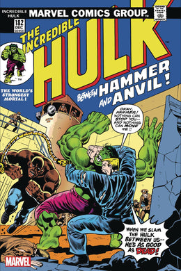 INCREDIBLE HULK #182 FACSIMILE EDITION 03/25/20