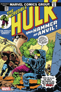 INCREDIBLE HULK #182 FACSIMILE EDITION 03/02/20 FOC 03/25/20