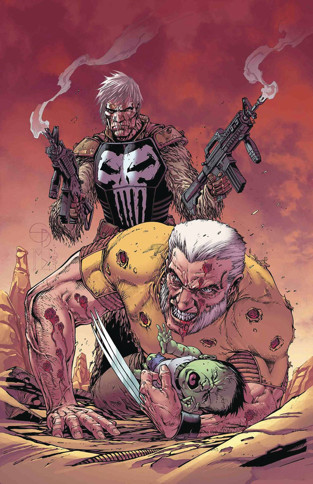 OLD MAN LOGAN ANNUAL #1 FOC 08/13