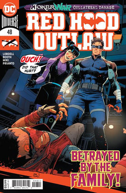 RED HOOD OUTLAW #48 PUNCHLINE COVER 08/26/20