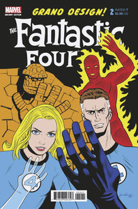 FANTASTIC FOUR GRAND DESIGN #2 (OF 2) RUGG VARIANT 11/27/19 FOC 11/04/19
