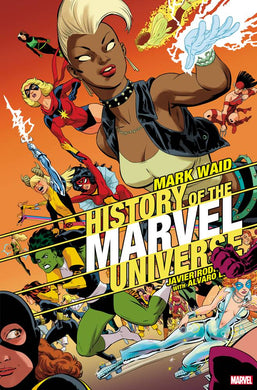 HISTORY OF MARVEL UNIVERSE #4 (OF 6) RODRIGUEZ VARIANT 10/16/19 FOC 09/23/19