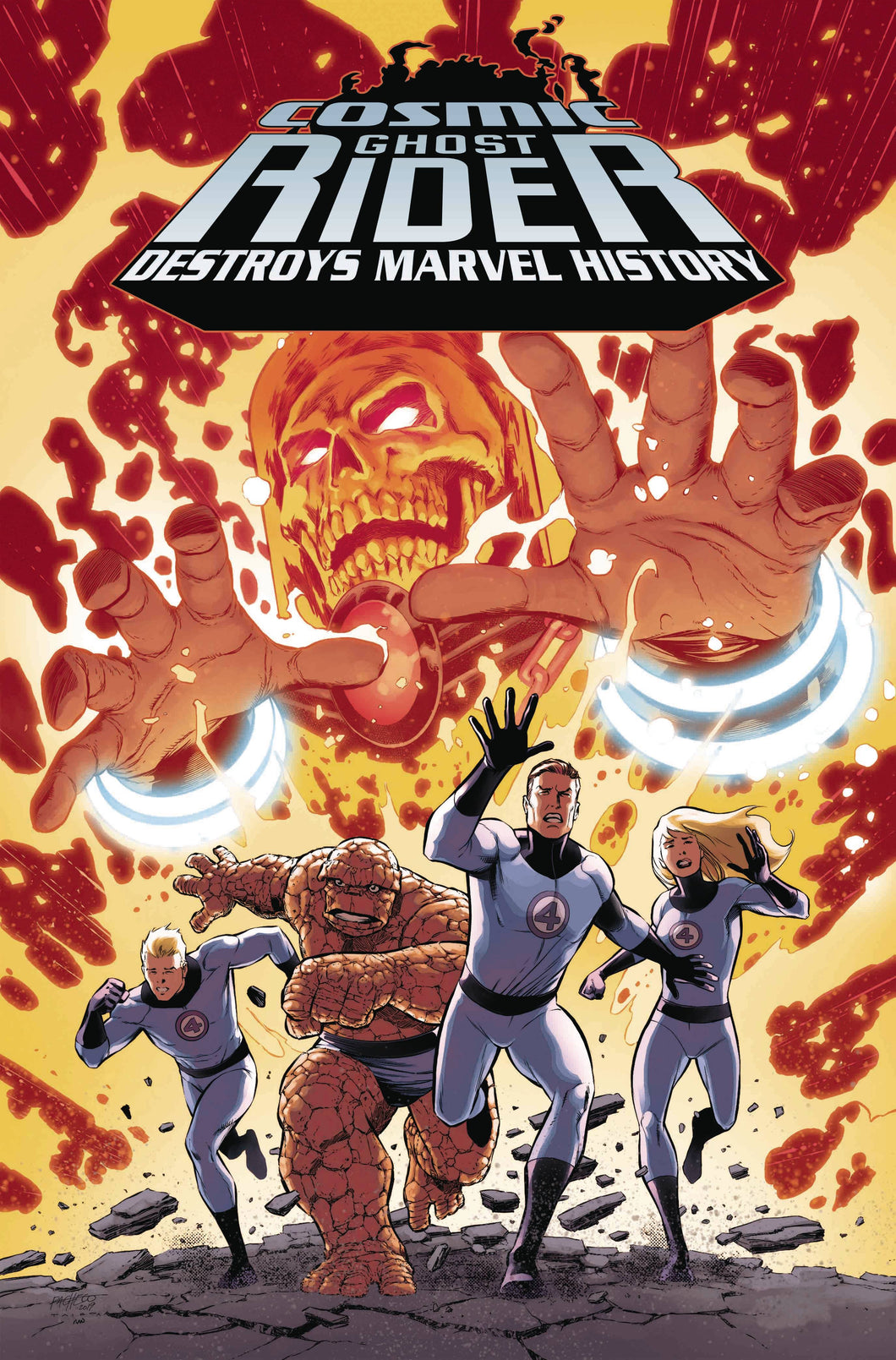 COSMIC GHOST RIDER DESTROYS MARVEL HISTORY #1 (OF 6) PACHECO 1:10 VARIANT 03/06/19 foc 02/11/19