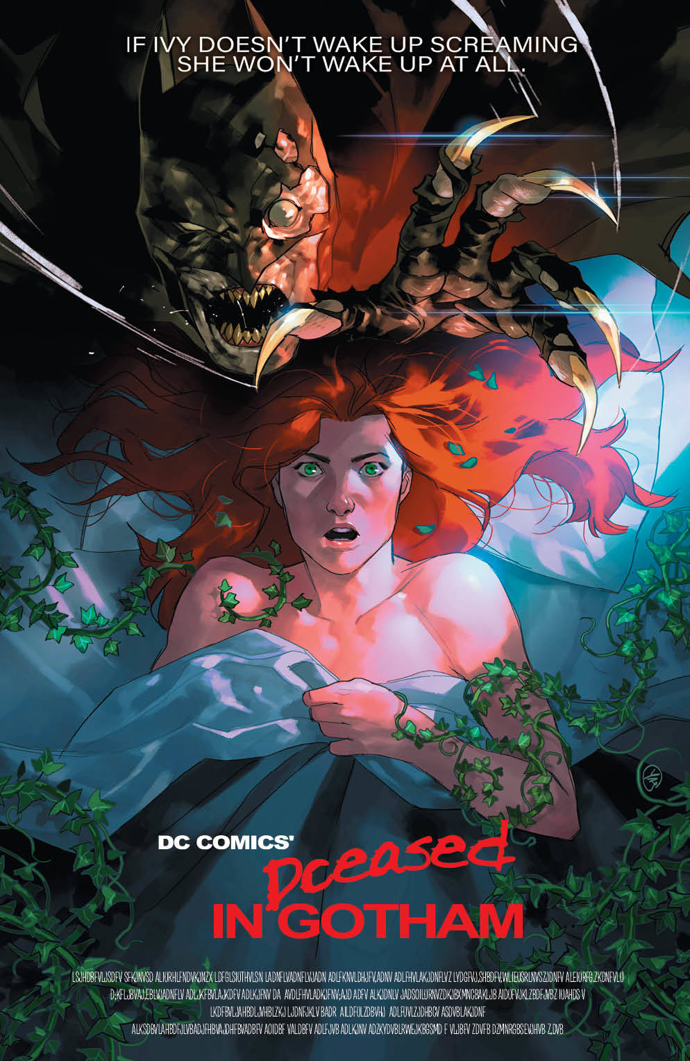 DCEASED #2 (OF 6) HORROR VARIANT 06/05/19 FOC 05/13/19
