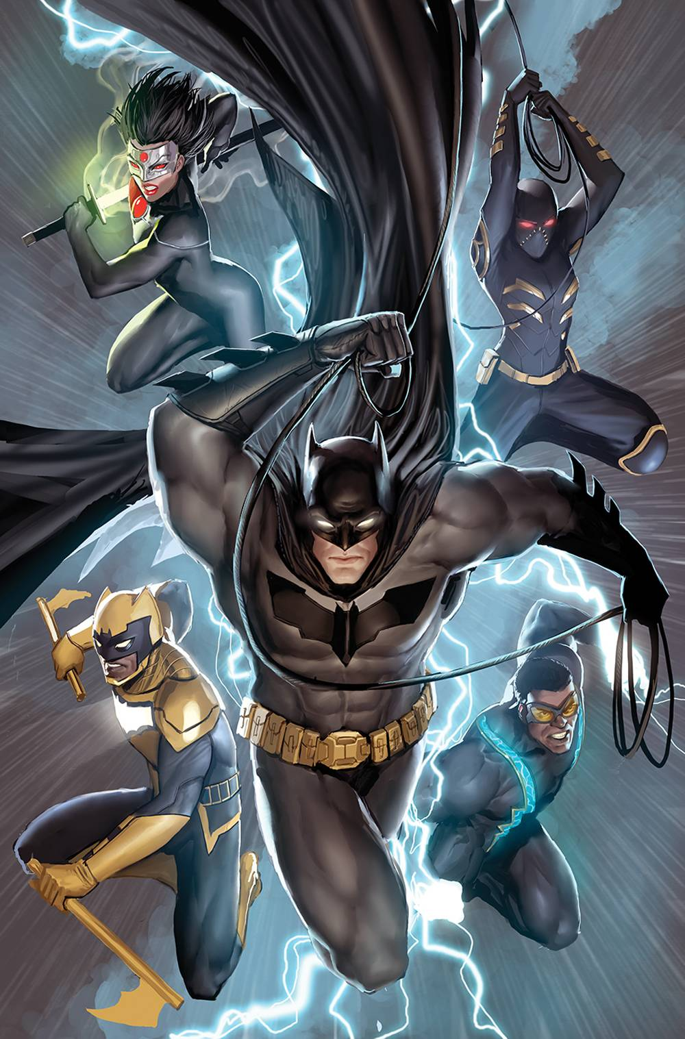 BATMAN AND THE OUTSIDERS #1 STEJPAN SEJIC VARIANT 05/08/19 FOC 04/15/19