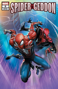 SPIDER-GEDDON #0 CLAYTON CRAIN NYCC EXCLUSIVE VARIANT TRADE DRESS COVER