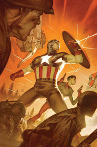 CAPTAIN AMERICA #12 TEDESCO MARVELS 25TH TRIBUTE VARIANT  07/31/19 FOC 07/08/19