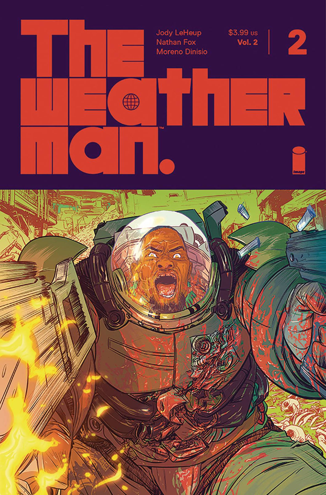 WEATHERMAN VOL 2 #2 CVR A FOX 07/24/19 FOC 07/01/19