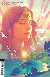 WONDER WOMAN #763 CVR B JOSHUA MIDDLETON CARD STOCK VARIANT 09/30/20