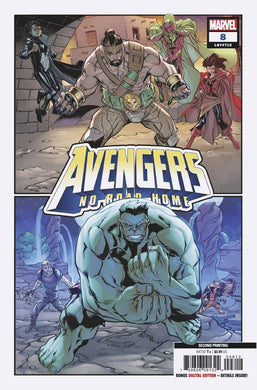 AVENGERS NO ROAD HOME #8 (OF 10) 2ND PTG BARBERI VAR 05/08/19 FOC 04/15/19