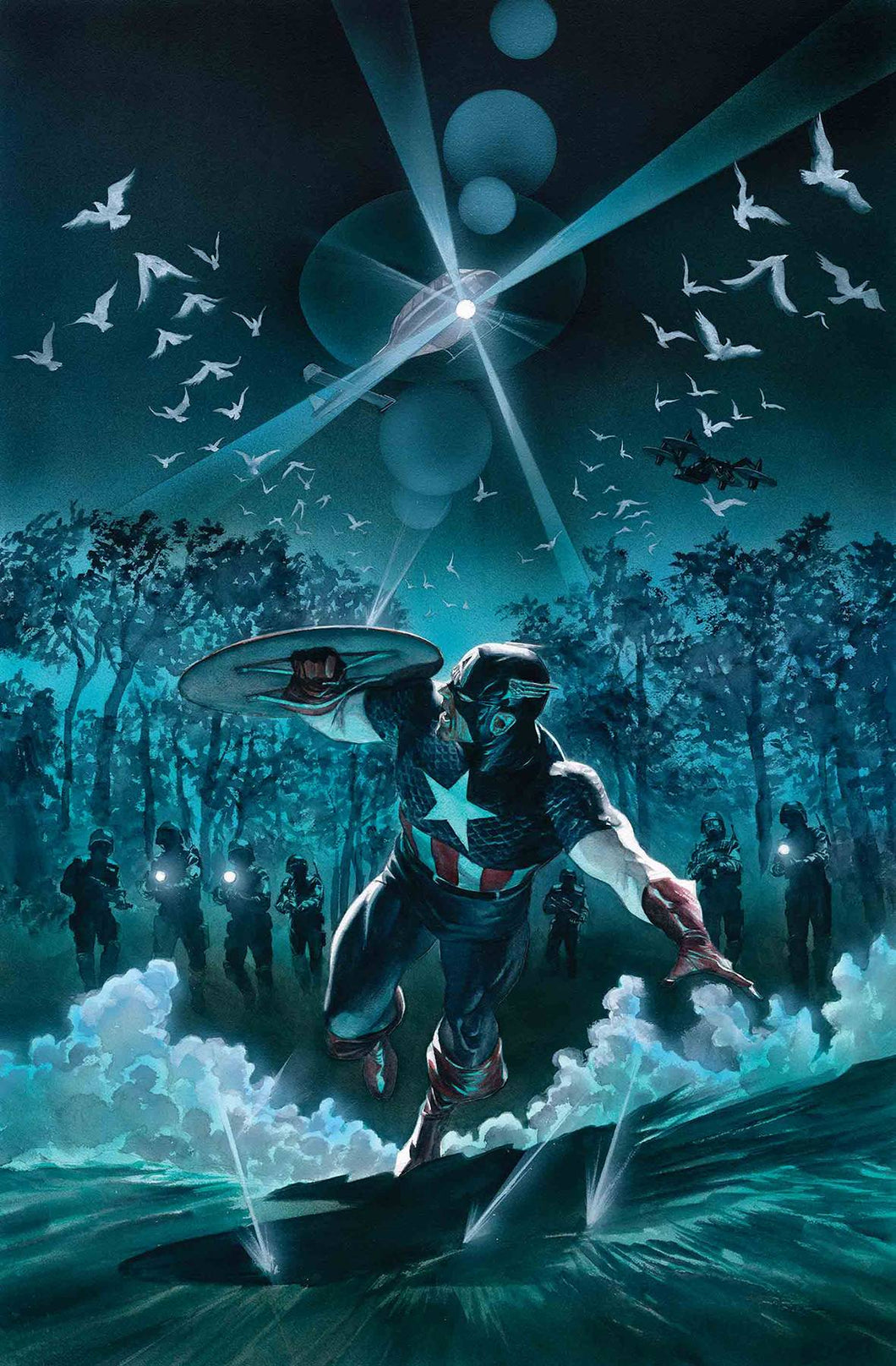 CAPTAIN AMERICA #12  07/31/19 FOC 07/08/19