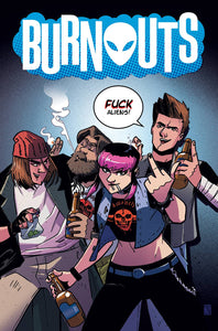 BURNOUTS #1 CVR C CBLDF CHARITY VAR UNCENSORED FOC 08/27