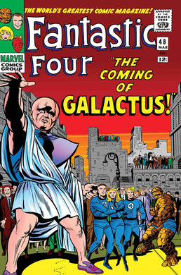 TRUE BELIEVERS FANTASTIC FOUR COMING OF GALACTUS #1 FOC 06/11 RELEASE DATE 07/04