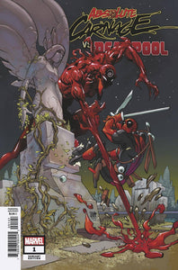 ABSOLUTE CARNAGE VS DEADPOOL #1 (OF 3) FERRY VARIANT W/TRADE DRESS 08/21/19 FOC 07/29/19