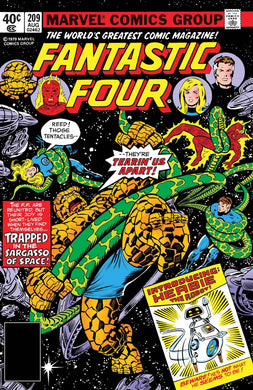 TRUE BELIEVERS FANTASTIC FOUR COMING OF HERBIE #1 FOC 06/25