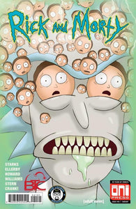RICK & MORTY #41 BTC & ILC EXCLUSIVE COVER
