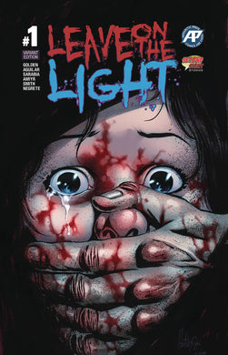 LEAVE ON THE LIGHT #1 (OF 3) FOIL VARIANT COVER 07/03/19