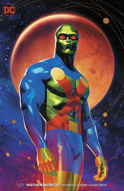 MARTIAN MANHUNTER #1 JOSHUA MIDDLETON VARIANT FOC 11/12