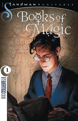 BOOKS OF MAGIC #1 (MR) FOC 10/01