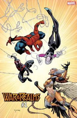 WAR OF REALMS #1 (OF 6) OTTLEY VARIANT 04/03/19 FOC 03/04/19