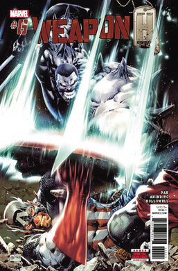 WEAPON H #6 PHILIP TAN COVER FOC 07/23
