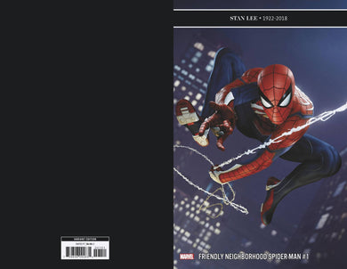 FRIENDLY NEIGHBORHOOD SPIDER-MAN #1 1:10 GAME VARIANT 01/09/19