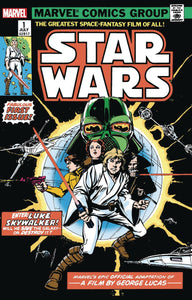 STAR WARS #1 FACSIMILE EDITION 12/04/19 FOC 11/04/19