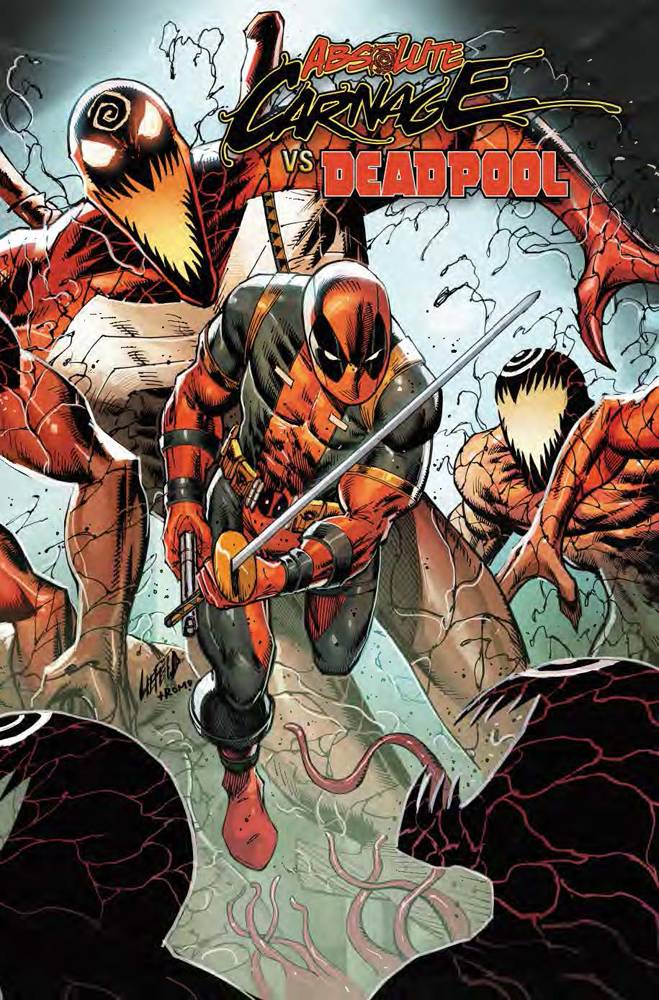 ABSOLUTE CARNAGE VS DEADPOOL #2 (OF 3) CONNECTING VAR AC 09/11/19 FOC 08/19/19