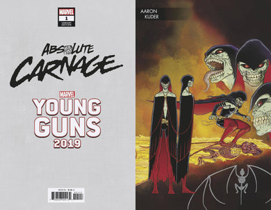 ABSOLUTE CARNAGE #1 (OF 4) KUDER YOUNG GUNS VARIANT 08/07/19 FOC 07/15/19