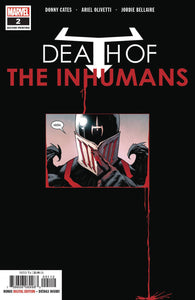 DEATH OF INHUMANS #2 (OF 5) 2ND PTG OLIVETTI VAR FOC 08/20/18