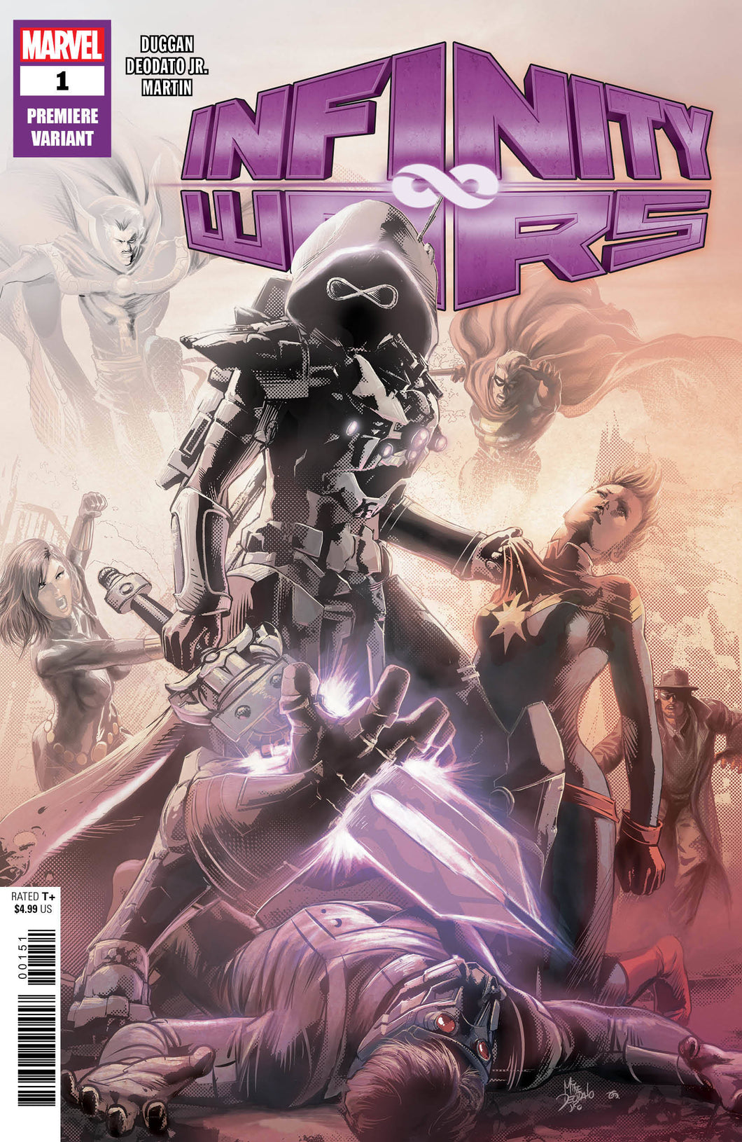 INFINITY WARS #1 (OF 6) DEODATO PREMIERE 2 PER STORE VARIANT  FOC 07/09