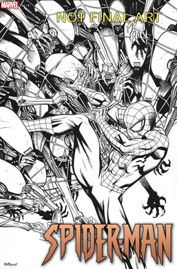 SPIDER-MAN #1 (OF 5) MCGUINNESS 1:100 VARIANT 09/18/19 FOC 08/26/19