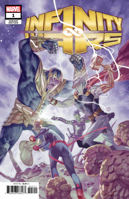 INFINITY WARS #1 (OF 6) TEDESCO 1:50 VARIANT FOC 07/09