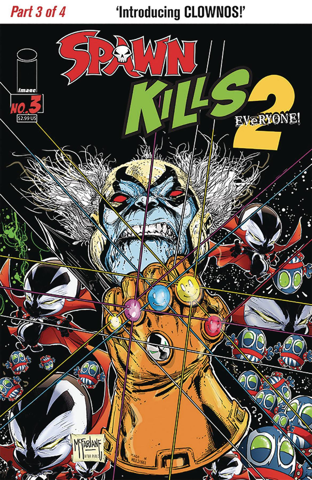 SPAWN KILLS EVERYONE TOO #3 (OF 4) CVR A MCFARLANE 02/13/19 FOC 01/21/19
