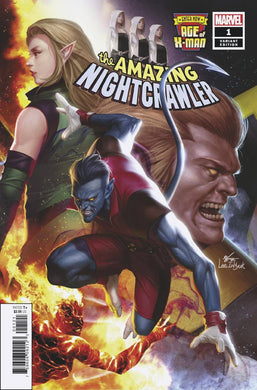 AGE OF X-MAN AMAZING NIGHTCRAWLER #1 INHYUK LEE CONNECTING VARIANT 02/20/19 FOC 01/28/19