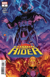 COSMIC GHOST RIDER #2 (OF 5) 2ND PTG BURNETT VAR FOC 08/20/18