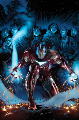 TONY STARK IRON MAN #13 06/19/19 FOC 05/27/19