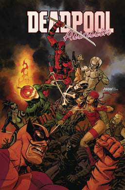 DEADPOOL ASSASSIN #5 (OF 6) JOHNSON VAR FOC 07/23