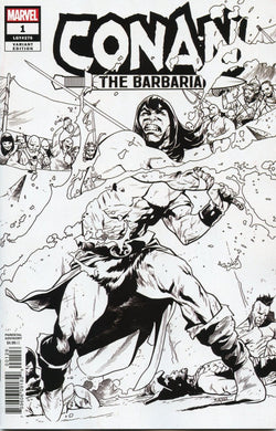 CONAN THE BARBARIAN #1 ASRAR PARTY SKETCH 1 PER STORE VARIANT 01/02/19