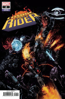 COSMIC GHOST RIDER #2 (OF 5) ZAFFINO 1:25 VARIANT FOC 07/09