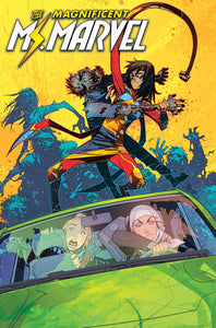 MAGNIFICENT MS MARVEL #7 09/18/19 FOC 08/26/19