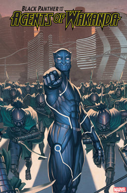 BLACK PANTHER AND AGENTS OF WAKANDA #3 ROCK HE KIM 2099 VARIANT 11/13/19 FOC 10/21/19