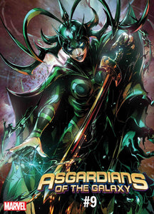 ASGARDIANS OF THE GALAXY #9 MAXX LIM MARVEL BATTLE LINES VARIANT 05/22/19 FOC 04/29/19