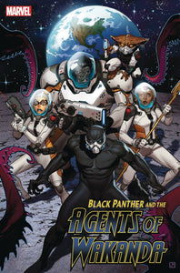BLACK PANTHER AND AGENTS OF WAKANDA #3 11/13/19 FOC 10/21/19