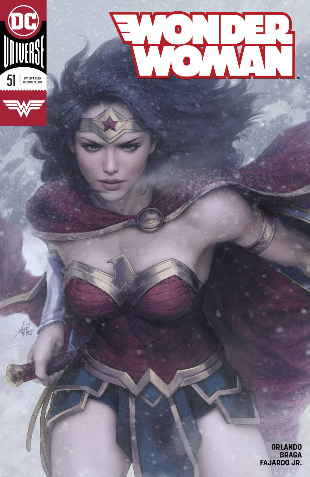 WONDER WOMAN #51 ARTGERM COVER FOC 07/02 (ADVANCE ORDER) 07/25