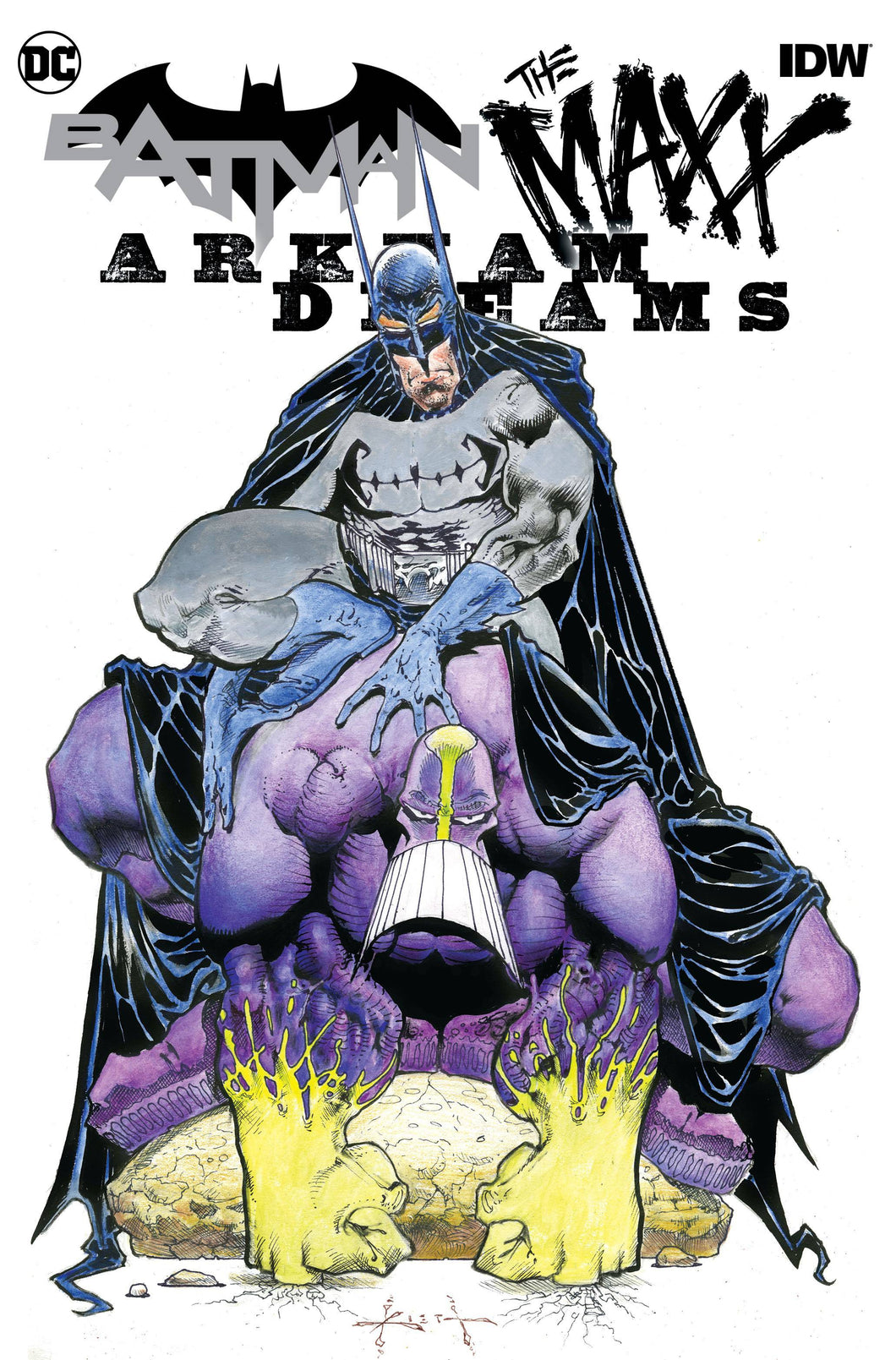 BATMAN THE MAXX #1 (OF 5) ARKHAM DREAMS CVR B KIETH FOC 10/03