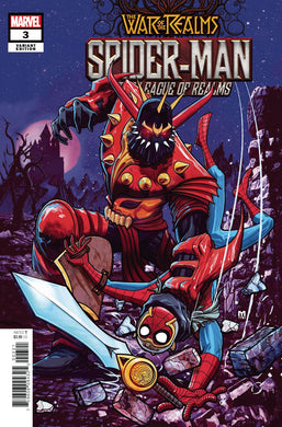 SPIDER-MAN & LEAGUE OF REALMS #3 (OF 3) DALFONSO VAR 06/19/19 FOC 05/27/19