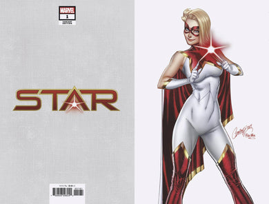 STAR #1 J SCOTT CAMPBELL 1:200 VIRGIN VARIANT 01/08/20 FOC 12/09/19